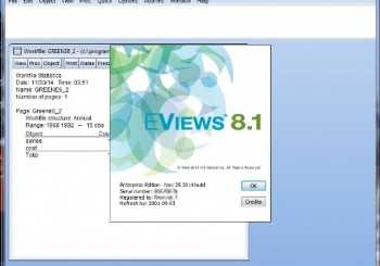 Eviews 8.1 Release